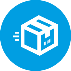 Online Packaging Retailer Icon